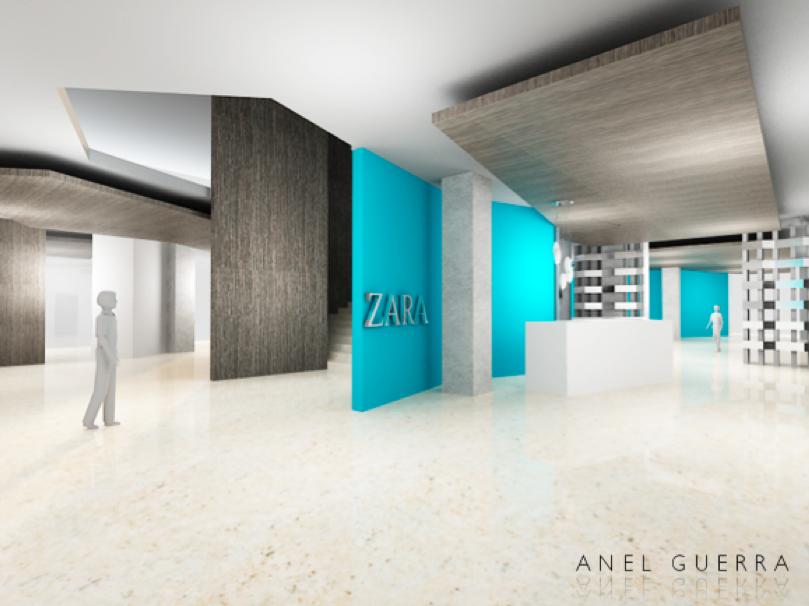 Anel Guerra Dise O Oficinas Para Zara Nueva York Polanco
