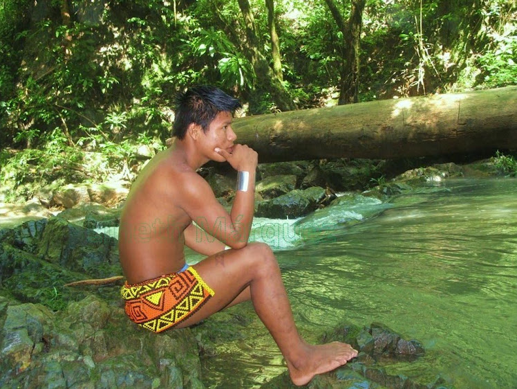 Indígena Emberá Varón