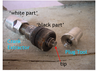 Crank Extractor and Special Plug Tool