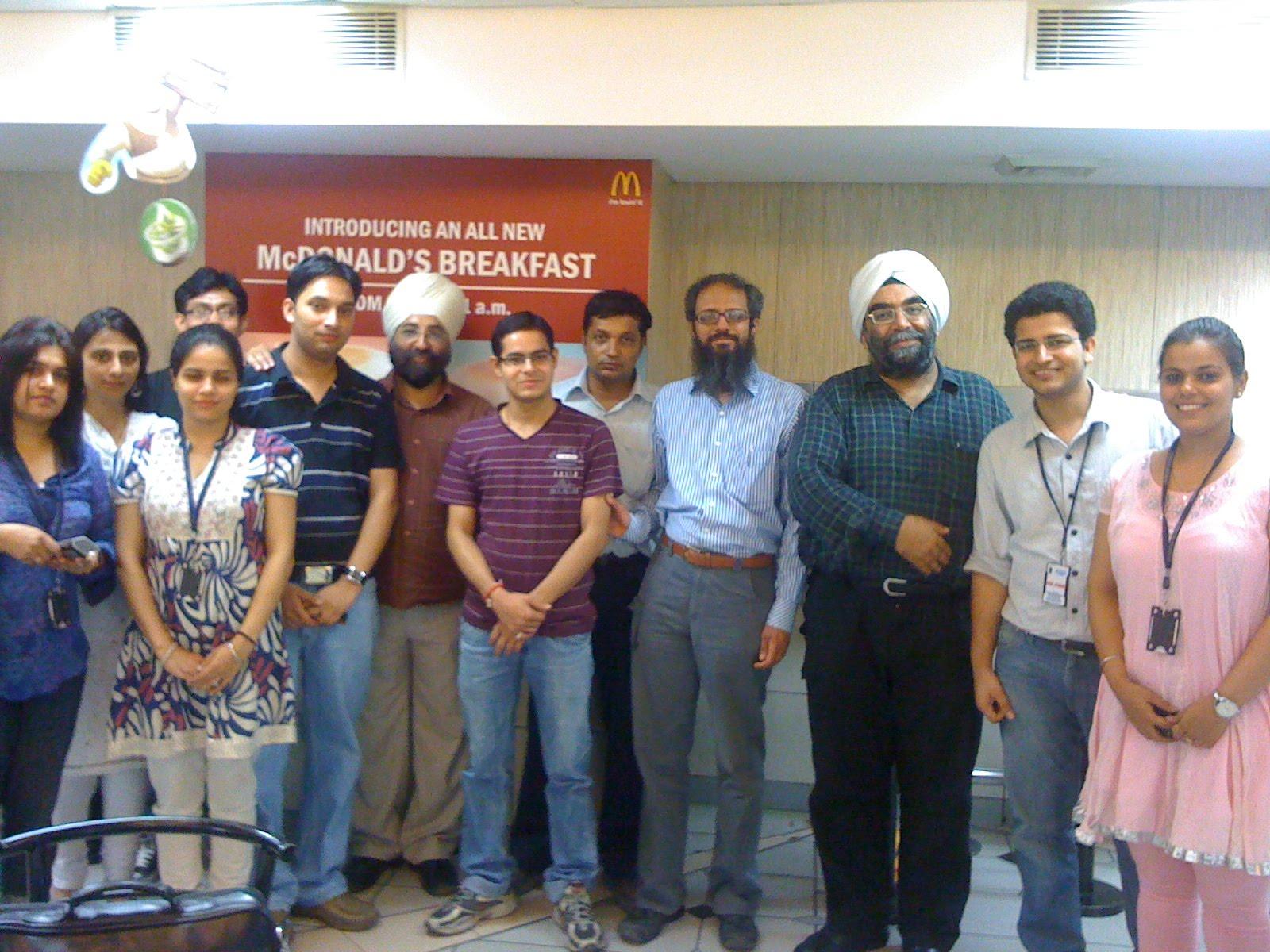 Tweetup in Delhi