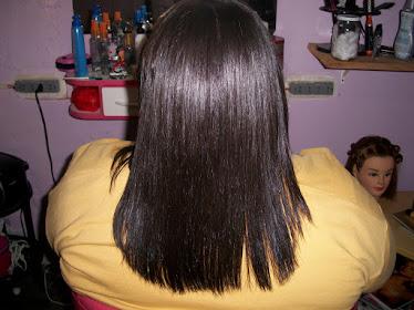 Depois da escova Progressiva Inteligente,cabelos saudáveis e luminosos!!