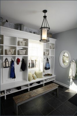 Storage Ideas  Small Bedrooms on This Is The Ah Ha Mudroom Above That Has Started The Whole Thing  I