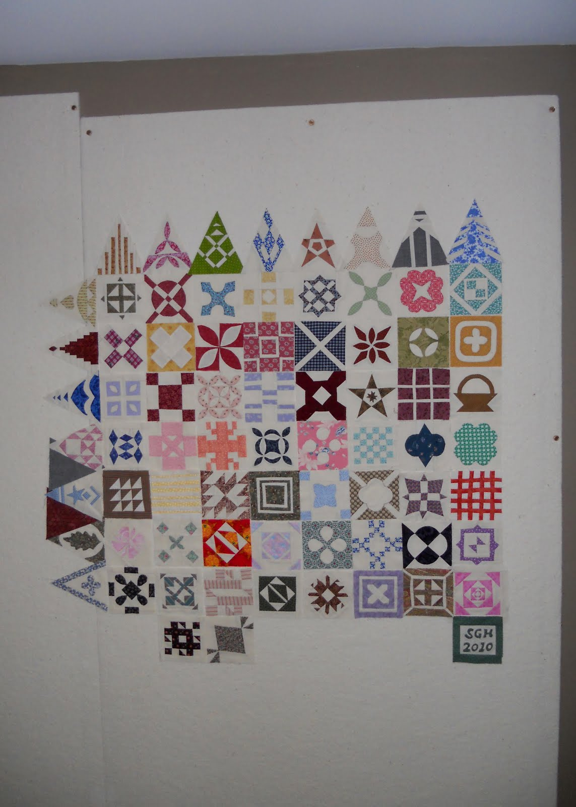 Quilting Design Wall Just Completed