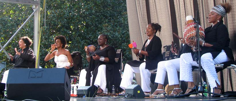 Sweet Honey in the Rock performs at Duke Gardens