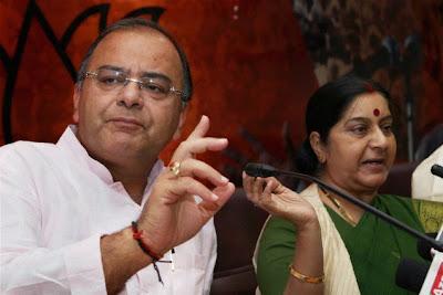 Sushma Swaraj and Arun Jaitley