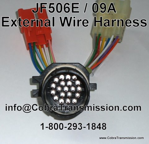 JF506E+External+Wire+Harness cobra transmission parts 1 800 293 1848 you asked we listened Wire Harness Assembly at nearapp.co