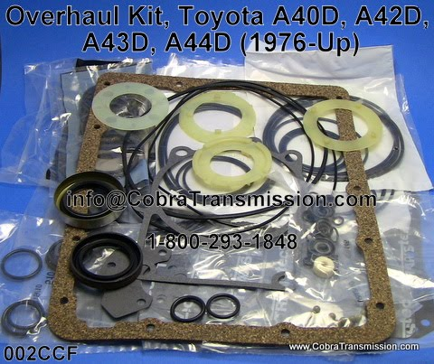 toyota a43d transmission parts