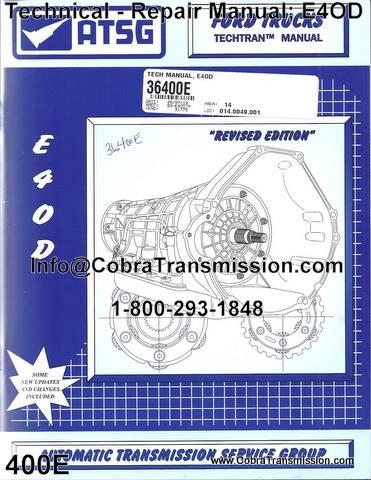 E4od Transmission Repair Manual Data Wiring Diagrams