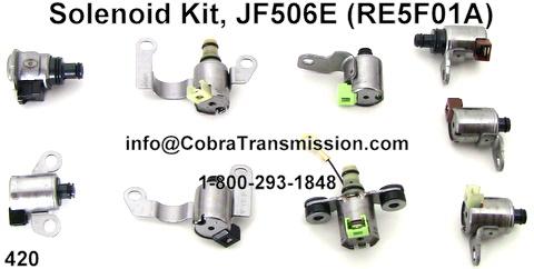 jf506e 09a transmission shift solenoids