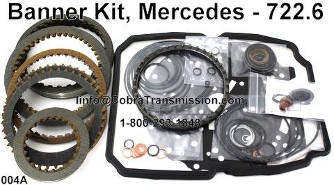 Cobra Transmission Parts 1 800 293 1848 Mercedes Benz 722