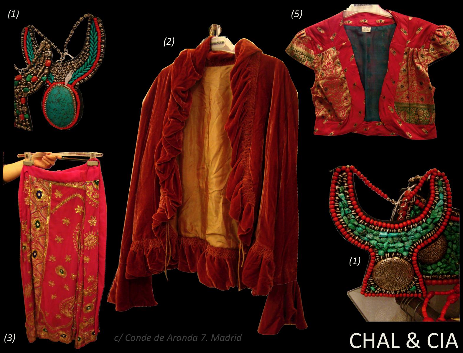 Compulsiva per joyas y complementos regalos originales - Telas de la india online ...