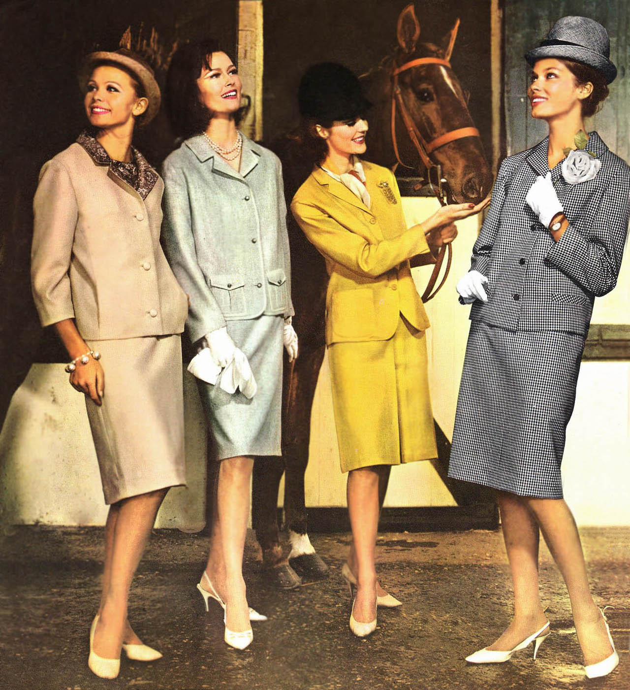 Fashion from the 1950 1950s Fashion History 50s Glamour, Dior New Look