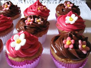 receita facil de cupcake