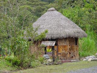 Casa consciente ecoaldeas con materiales organicos - Casas de materiales ...