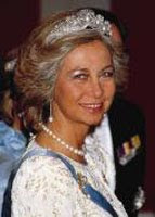 Королева Испании София