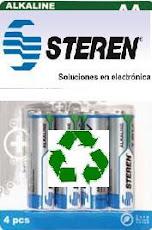 ¿Quieres reciclar tus pilas o baterias?