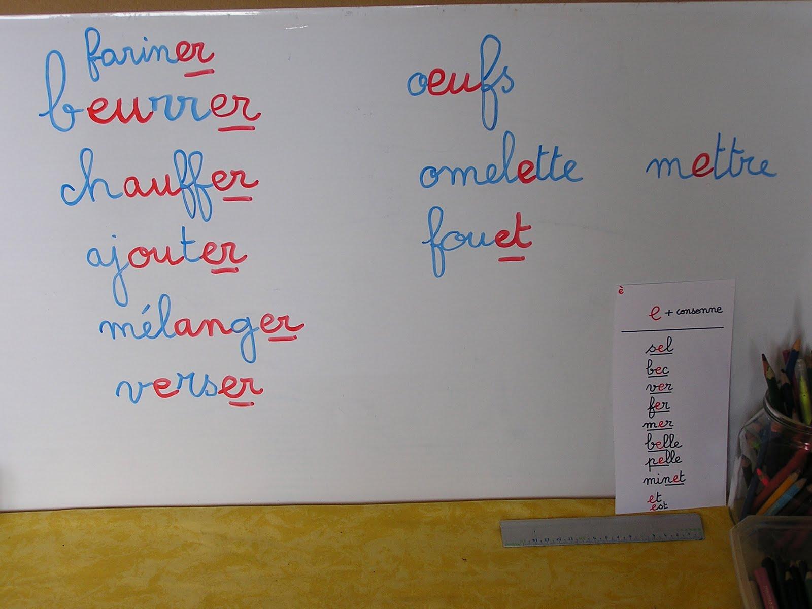 Montessori la maison deuxi me jour lecture en cuisine - Ecrire un livre de cuisine ...