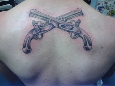 Military Tattoo Designs on For Mens And Tattoos For Girls  Tattoo Gun For Military Tattoo Ideas
