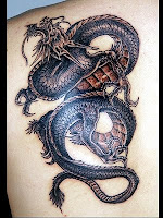 New Dragon Tattoo Design