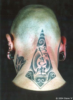neck tattoos designs for men