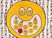 Después de tanta búsqueda en internet me decidí por los emoticones, .