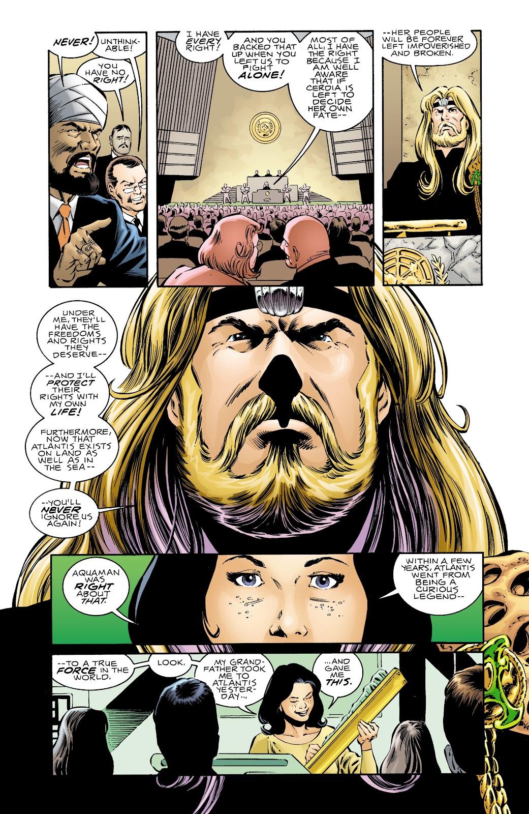 Aquaman (1994) Issue #69 #75 - English 21