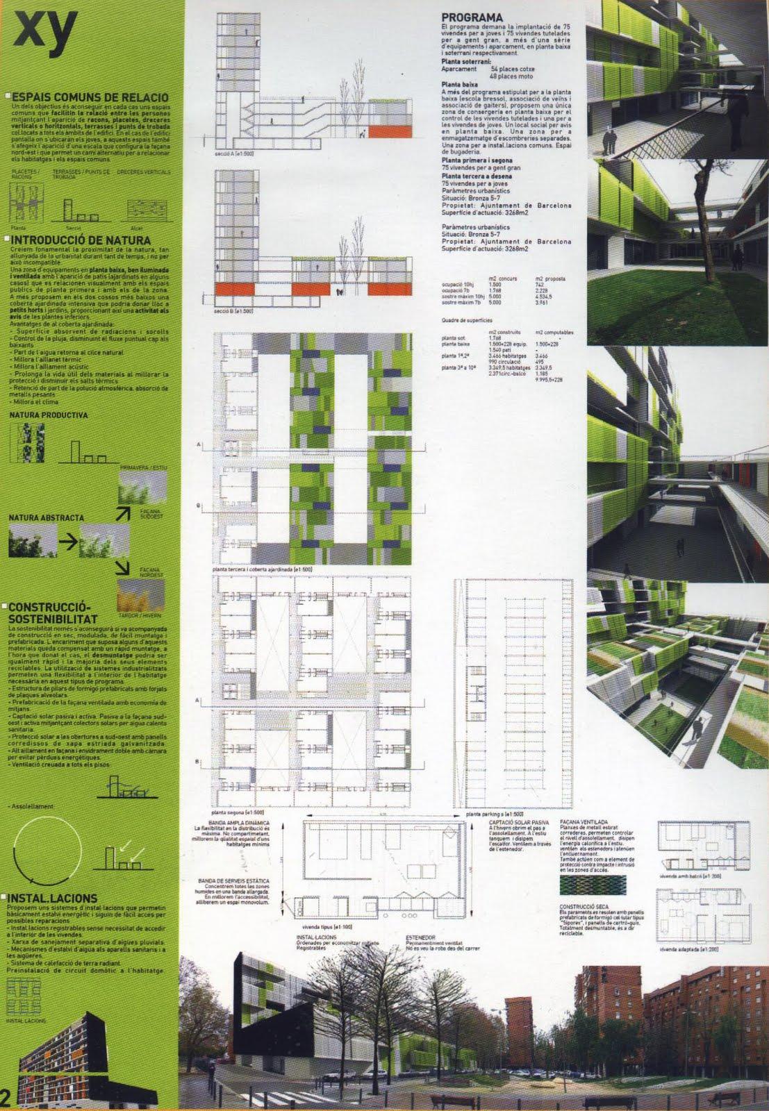Tia dos c tedra ab modelos de lamina for Laminas arquitectura