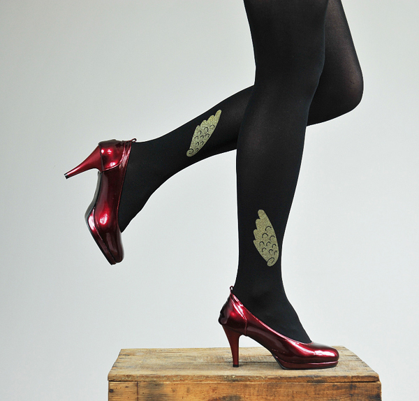 Elegant graphic tights Fashion