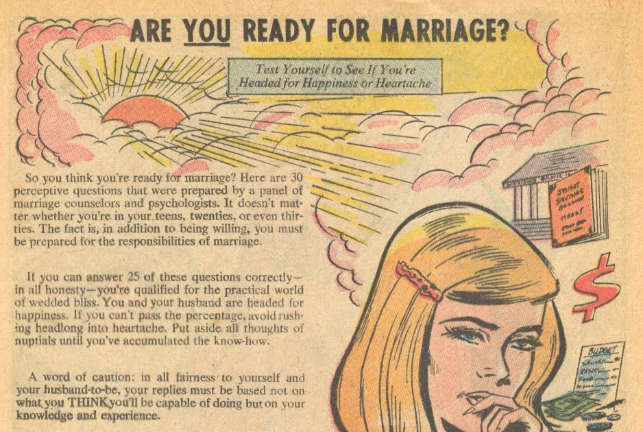 quizzes ready marriage
