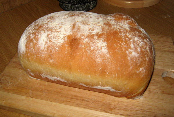 Susan's Easy Basic White Sandwich Bread Recipe
