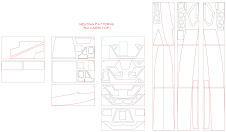 Knot-style parts drawings available by email