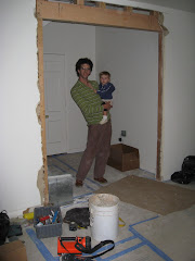 old entry way during remodel