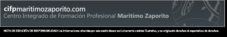 C.I.F.P. Marítimo Zaporito (Tablón de anuncios)