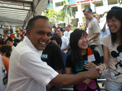 Projects by Jane: The K SHANMUGAM Smile