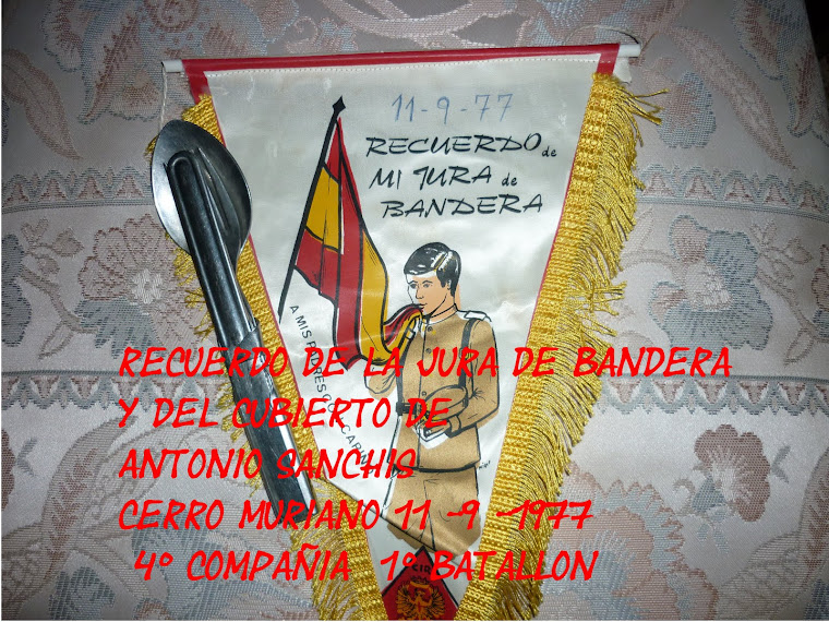 Antonio Sanchis Sanchis, Moixent (Valencia). 8ª BIA.  3º/77.
