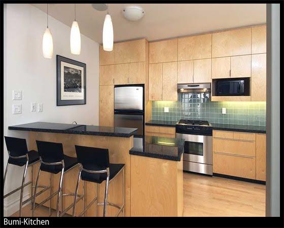 BUMI KITCHEN Kitchen Cabinet Melamine ABS Cipboard