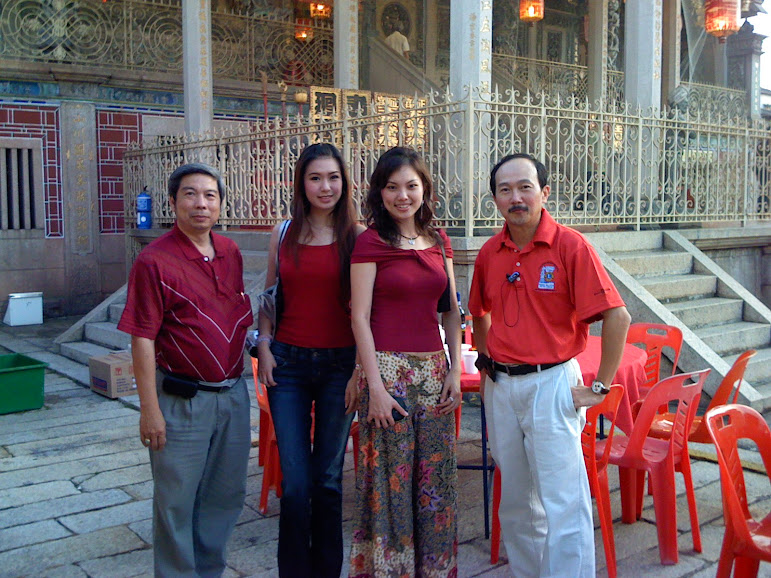 Fellowship Dinner at Khoo Kongsi with Miss Queen 2007