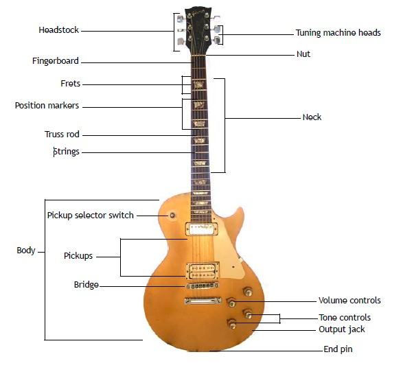 Amazing Diagram Of Electric Guitar Gallery - Everything You Need to ...