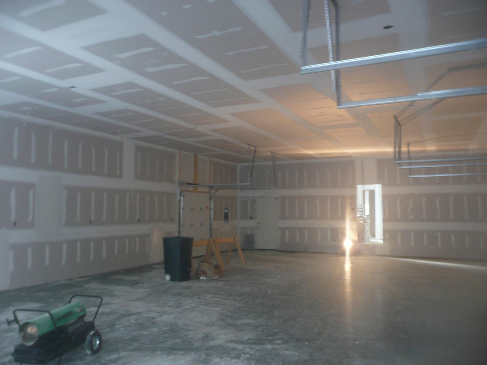 Drywall Taping And Mudding : Steve and shelly s new house drywall is all hung now