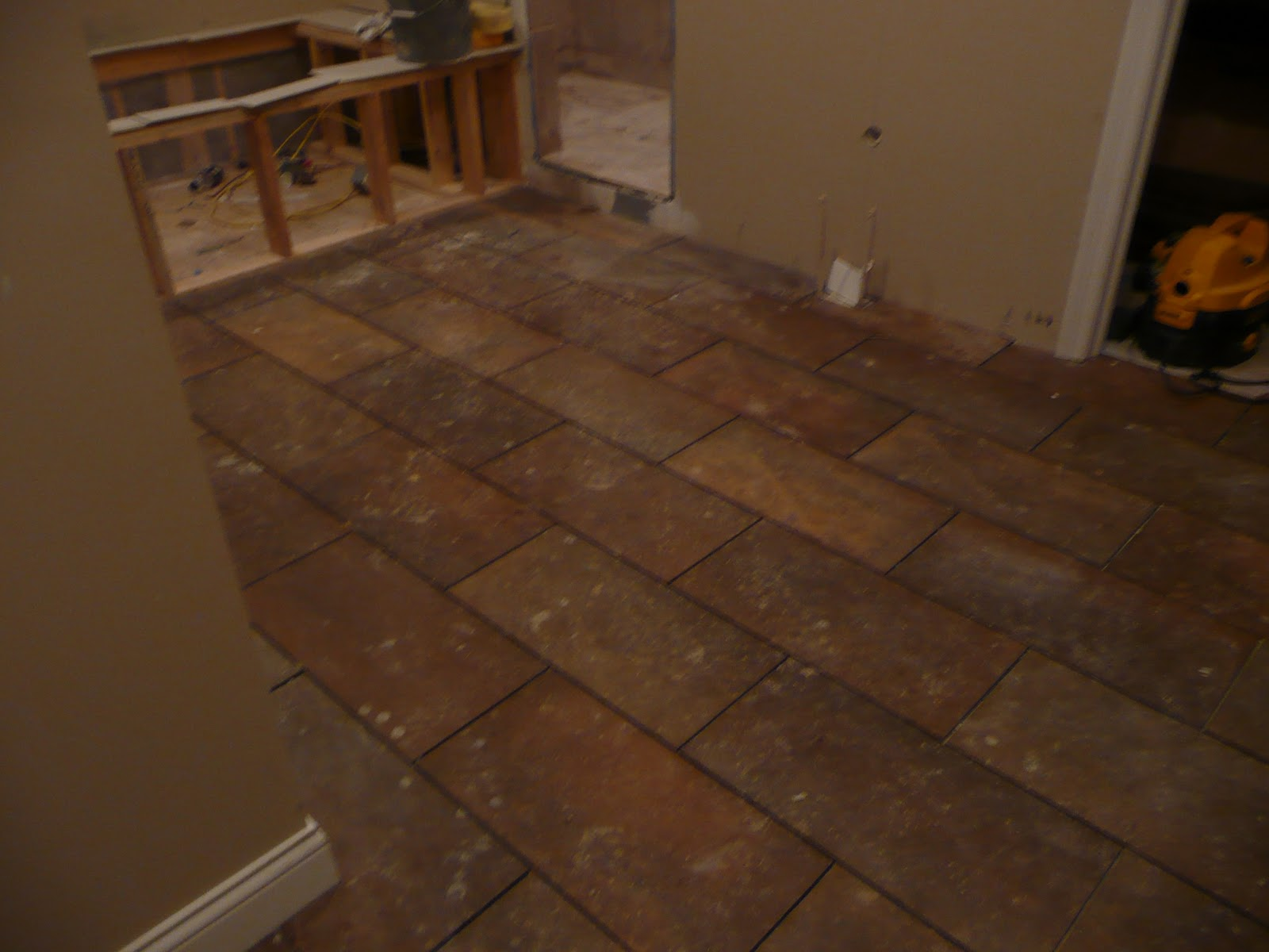 how to clean new laid tiles
