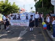 caminata de la paz