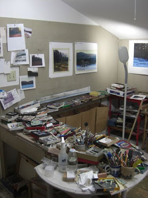 artTALK: Studio Visit w/ Sandy Wadlington