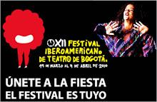 Flora Ovalles en el XII Festival Iberoamericano de Teatro de Bogotá