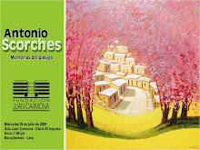 """Fundación Juan Carmona, Invita a la Exposición: """"Antonio Scorches - Memorias del Paisaje"""""""