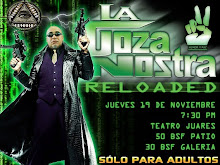 La Goza Nostra: nica Funcin. Jueves 19 de Noviembre - 7:30 p.m. - Teatro Juares