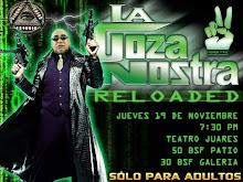 La Goza Nostra: Única Función. Jueves 19 de Noviembre - 7:30 p.m. - Teatro Juares
