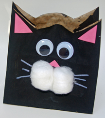 Cat crafter cat craft projects for kids for Cat crafts for toddlers