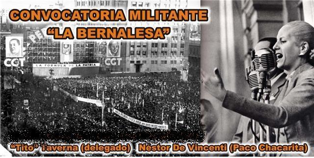 Convocatoria Militante La Bernalesa