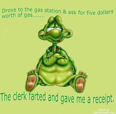 The Funny Side of the Price of Gas