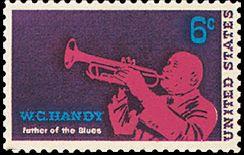 W.C. Handy Postage Stamp